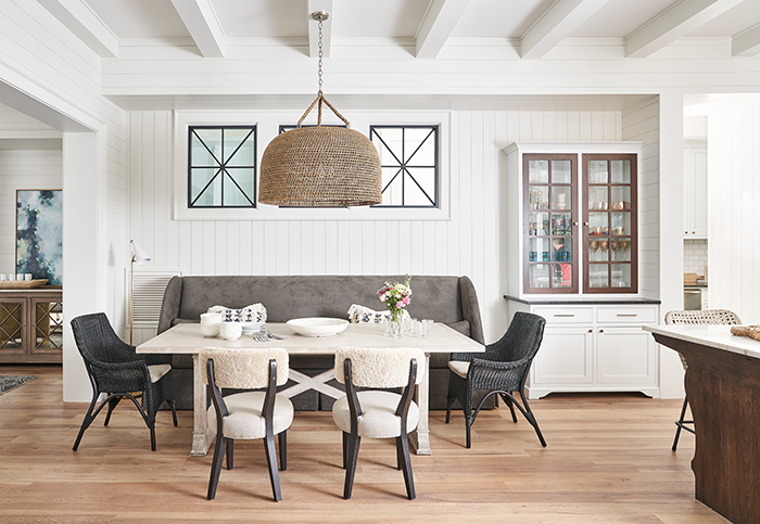 Home of the Year 2019 lakeside living dining room