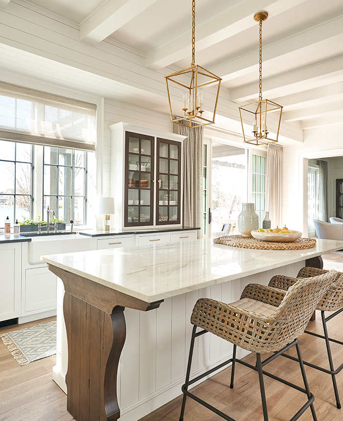 Home of the Year 2019 lakeside living kitchen