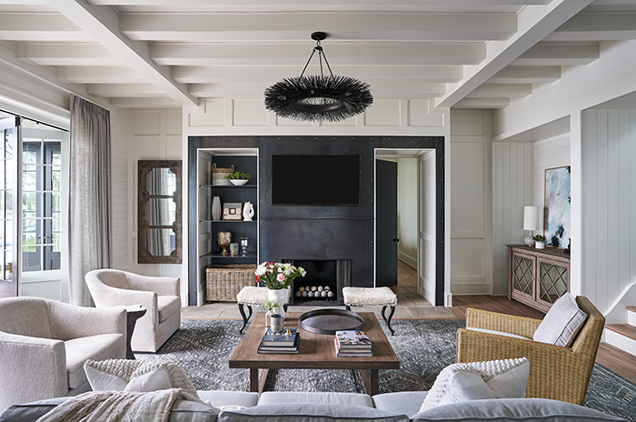 Home of the Year 2019 lakeside living living room
