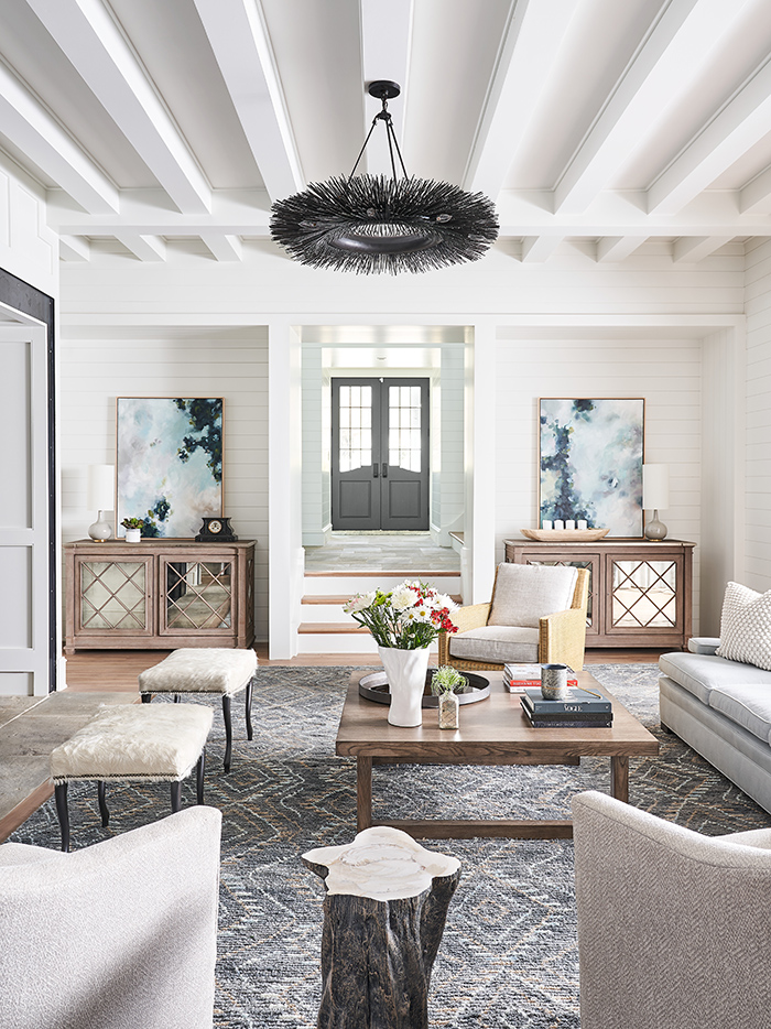Home of the Year 2019 lakeside living living space