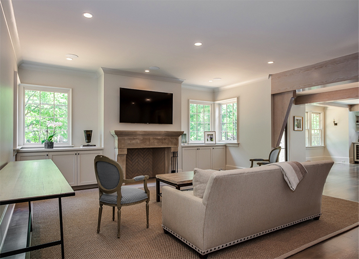 Home of the Year 2019 modern tudor concept family room