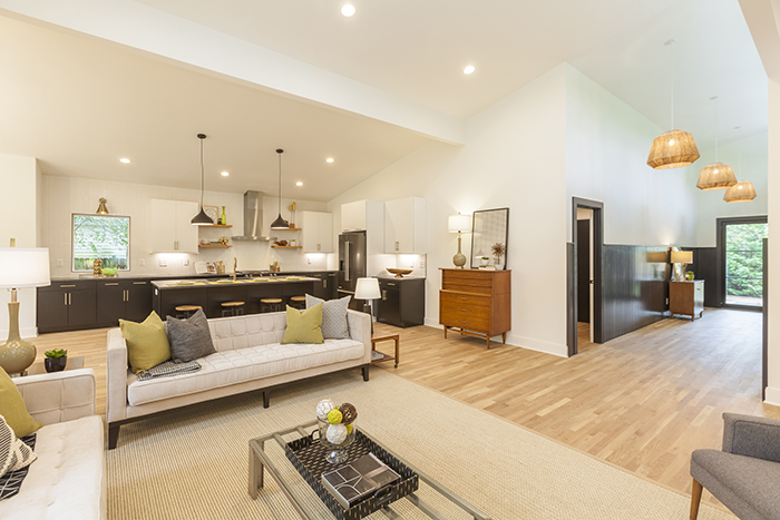 Home of the Year mid-century modern open concept