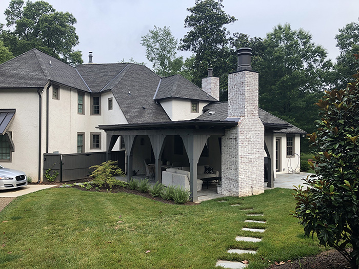 Home of the Year 2019 modern tudor concept addition