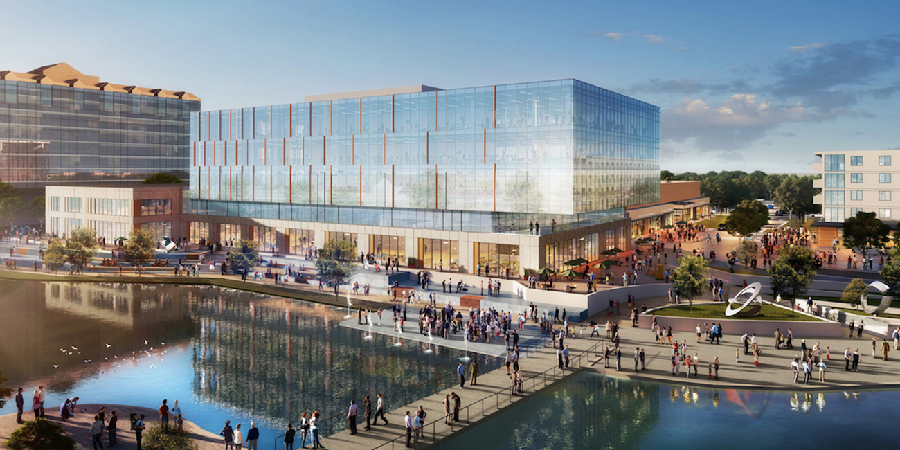 View renderings: 20.5-acre waterfront development approved and coming to University City