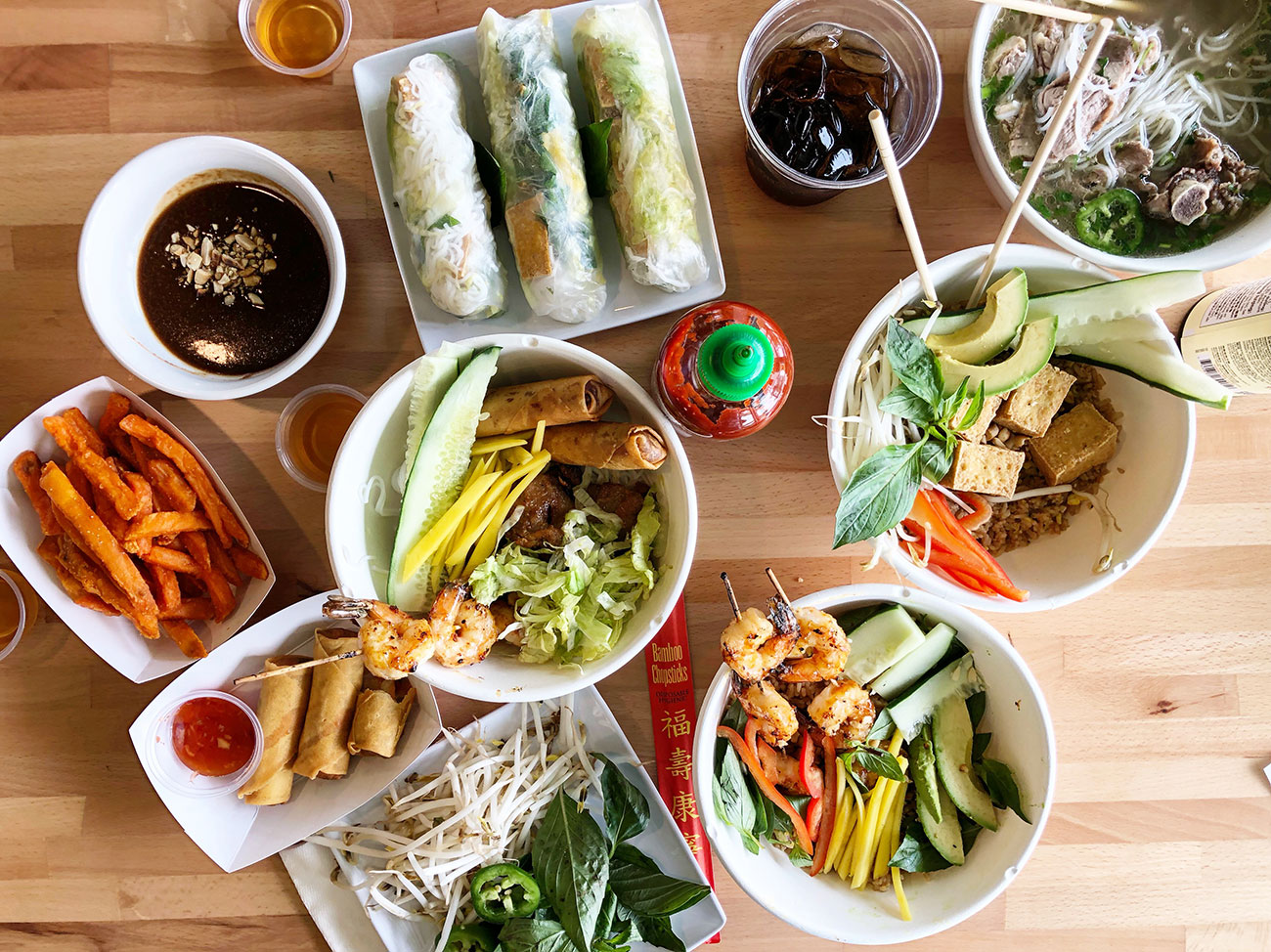 Cilantro Noodle soft opens Saturday with customizable Vietnamese bowls, rolls and banh mi