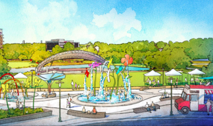 Symphony Park getting $10 million overhaul to make it SouthPark's new town square