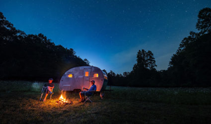 Former director of new store development for Habitat For Humanity International ReStores building 72-acre resort with tiny houses, vintage campers, deluxe yurts and treehouses