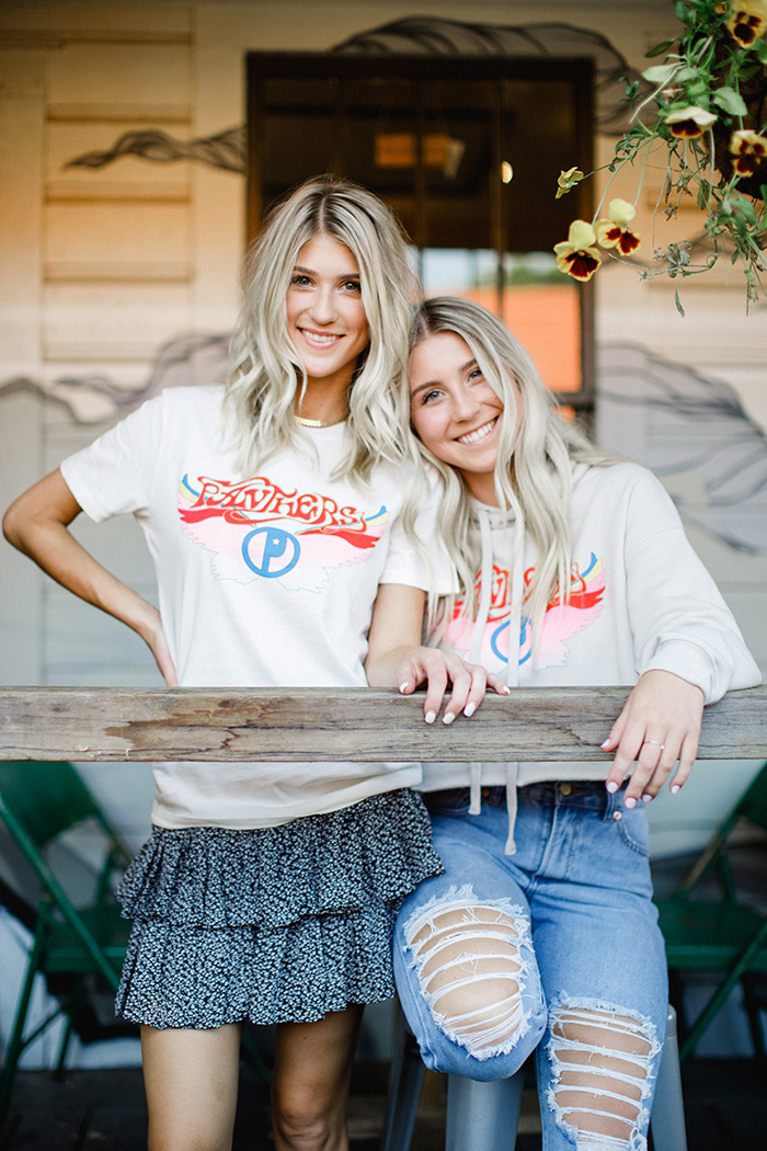 Girl Tribe game day Concert Tee + Hoodie