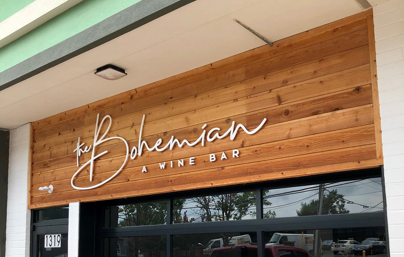 Now open: Quick details on The Bohemian, a relaxed wine bar near Dairy Queen in Plaza Midwood