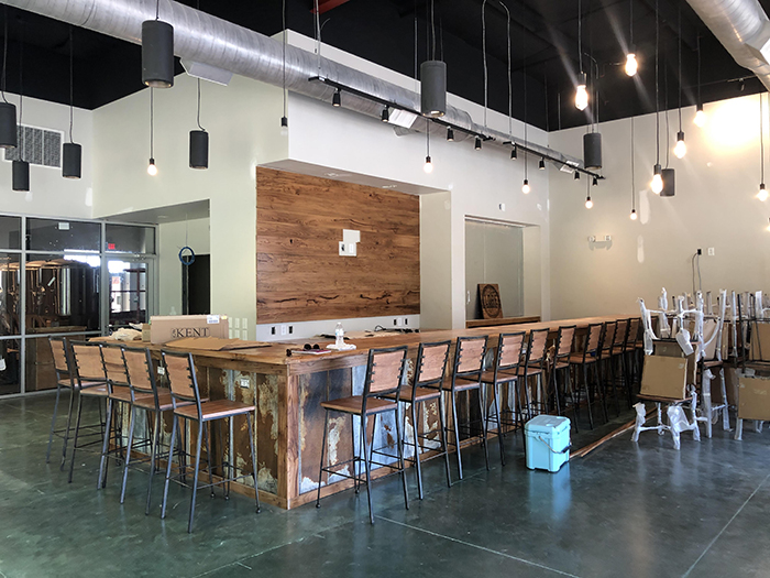 Lore Brewing Company Indian Land bar area