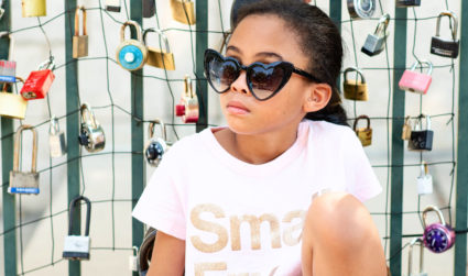 Local 8-year-old influencer Bean Ervin signs advertising deal with Belk, hosts fashion show