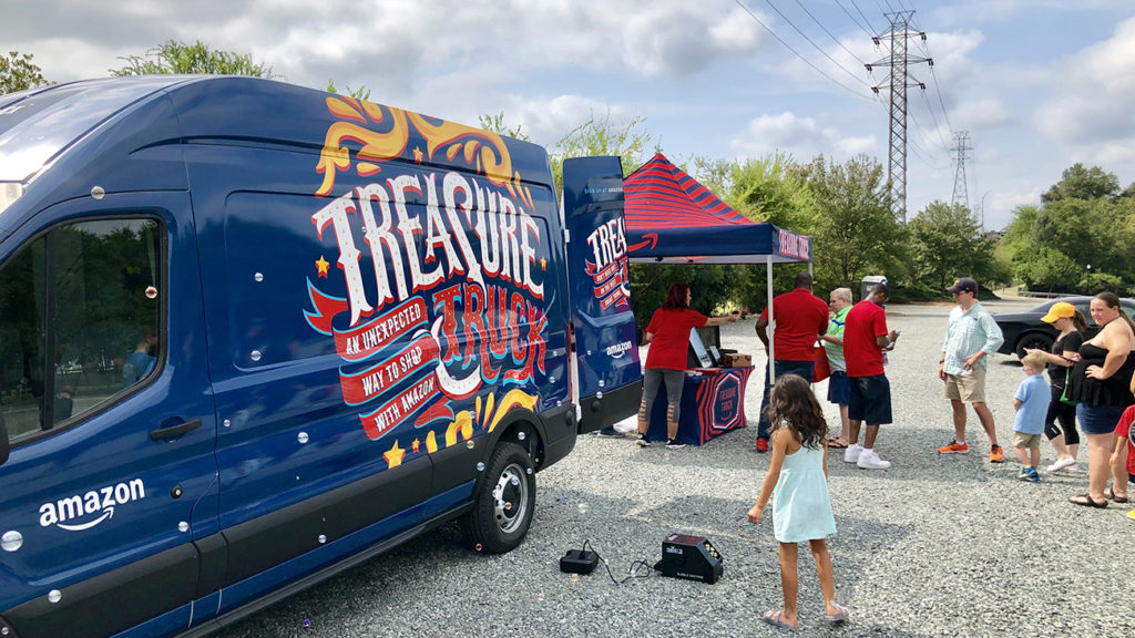 Amazon Treasure Truck starts offering deals — technology is flawless, but truck itself is underwhelming