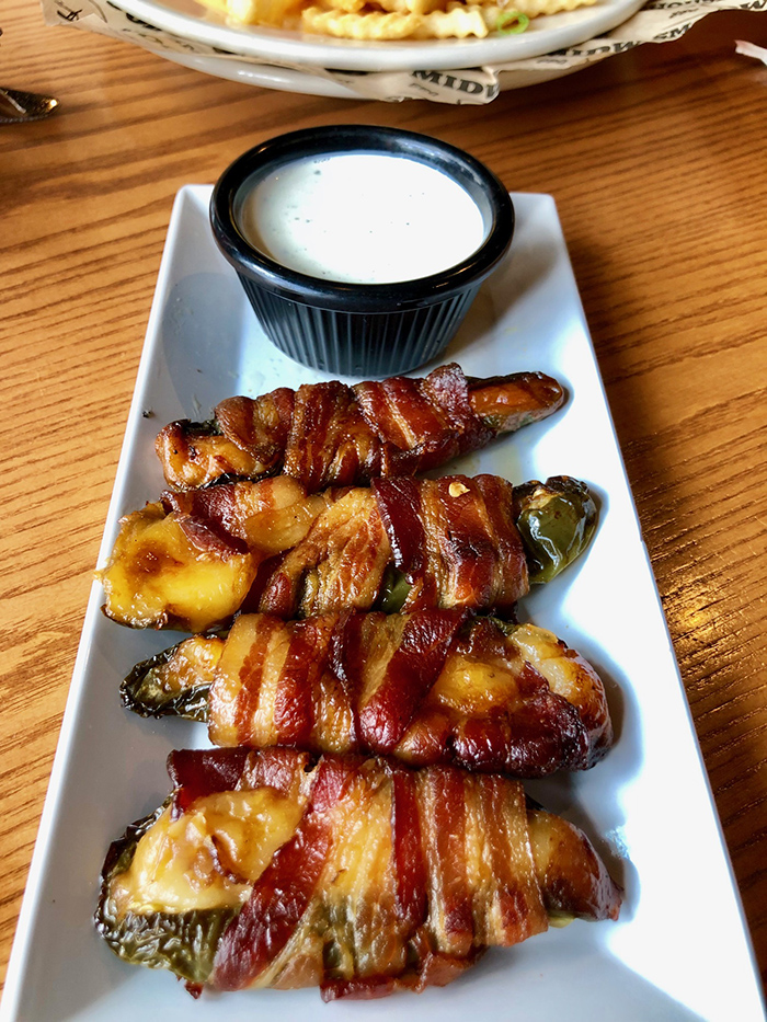 bacon wrapped jalapeno peppers midwood smokehouse charlotte