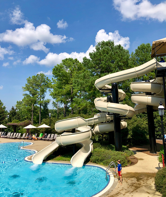carmel country club pool in charlotte