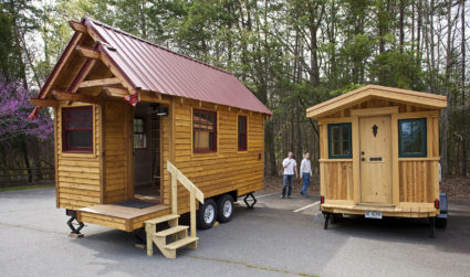 35-year-old saves $100,000 in 7 years by living inside tiny house, plans to retire at 40 and build in Asheville