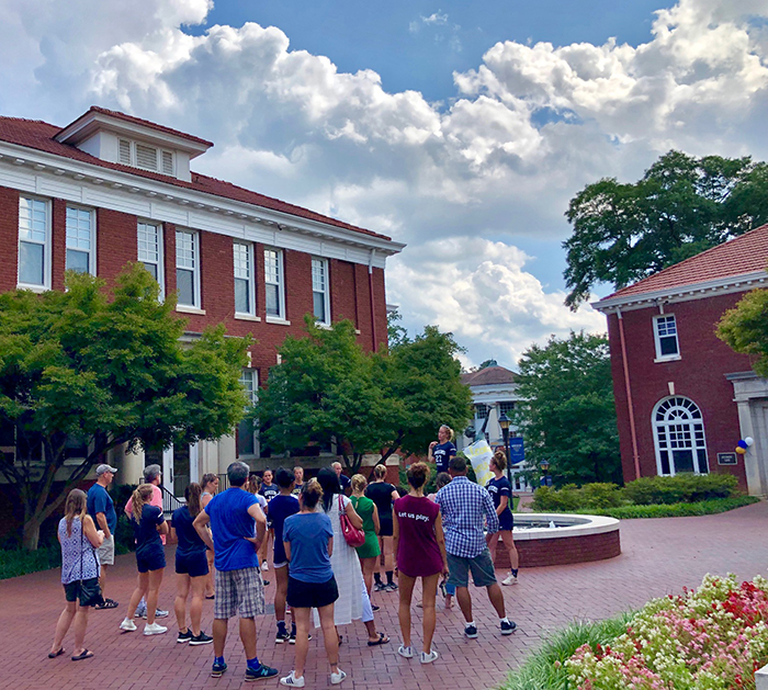 tour at queens university in charlotte