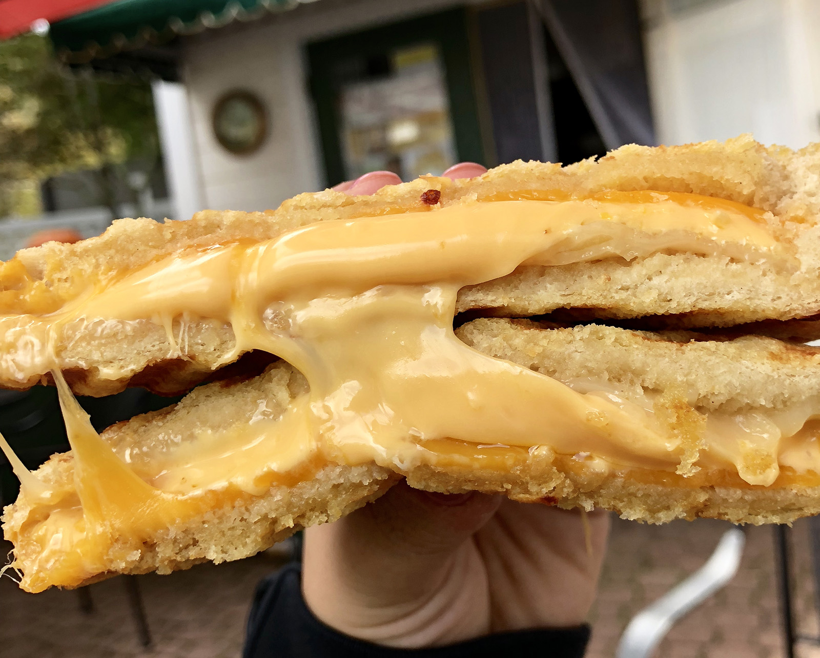 The Grilled Cheese Cafe Blowing Rock eat