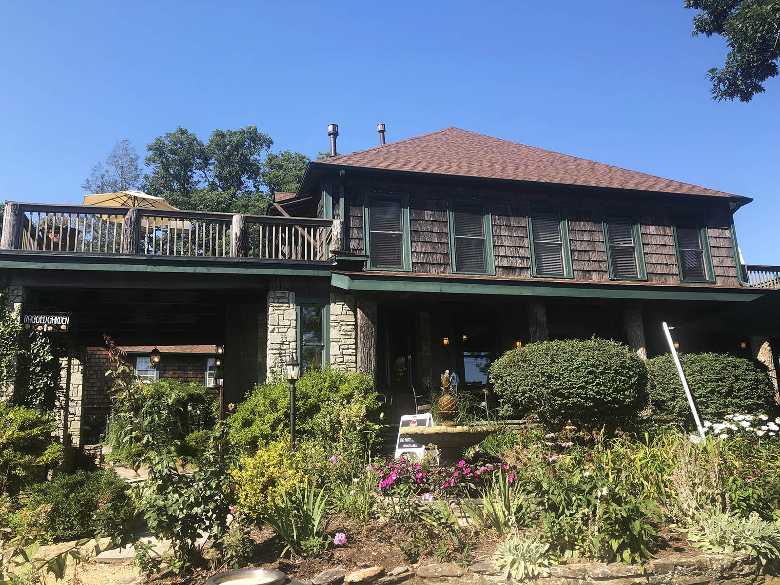 The Inn at Ragged Gardens Blowing Rock stay