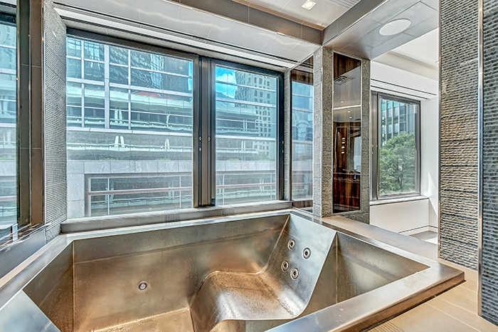 The Trust uptown's most expensive condo master bath