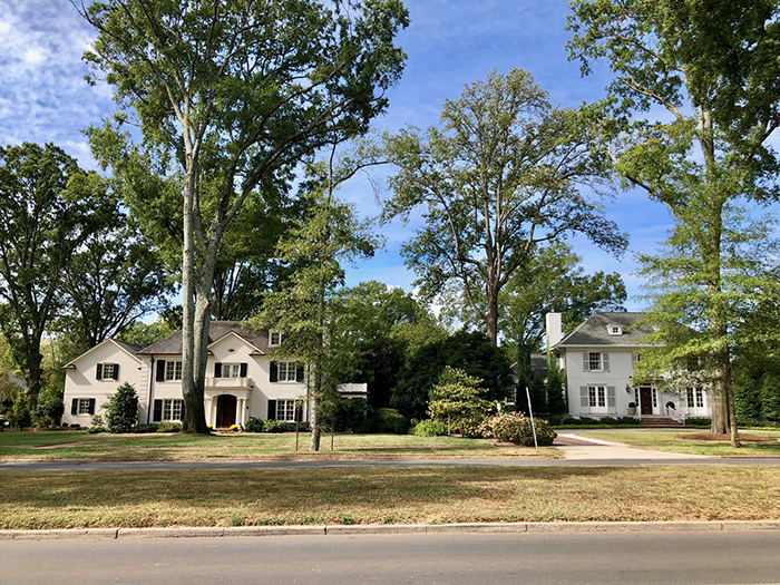 queens road west houses in myers park charlotte
