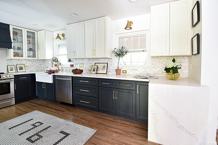 Mint Hill colonial remodel kitchen 1