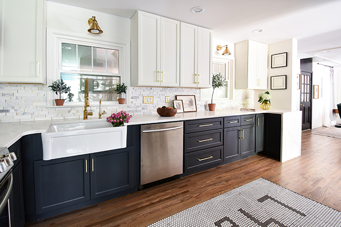 Mint Hill colonial remodel kitchen