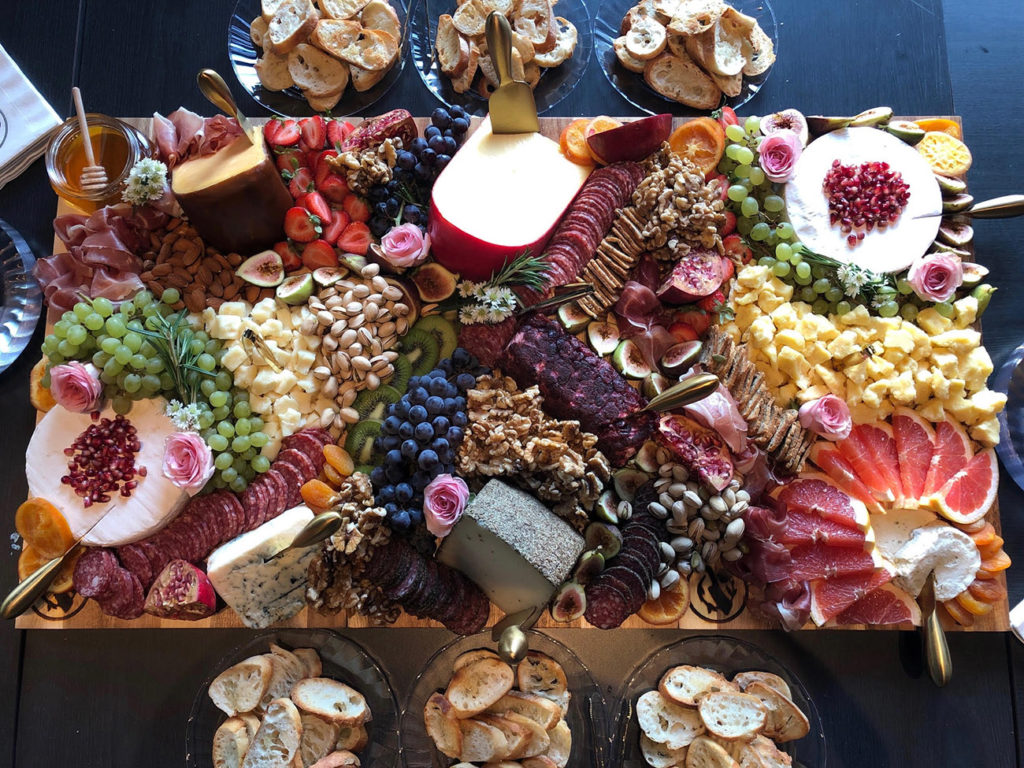 New, high-end charcuterie company called Babe & Butcher builds 13 boards a day to fulfill demand