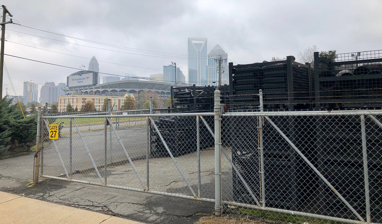 Charlotte Pipe & Foundry is officially relocating, freeing up an Uptown site big enough for an NFL stadium
