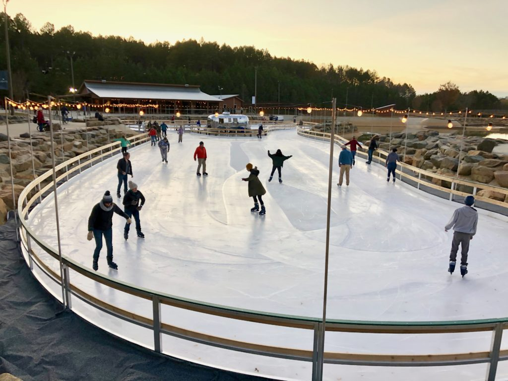 Ice skating is back at the Whitewater Center this month — plus an immersive light trail