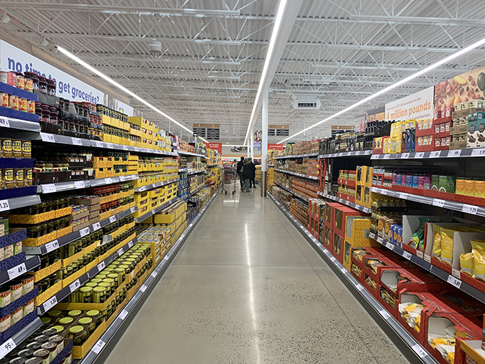 Lidl's first Charlotte grocery store