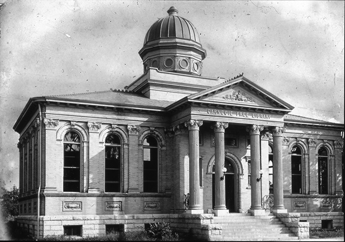 Carnegie library uptown Charlotte