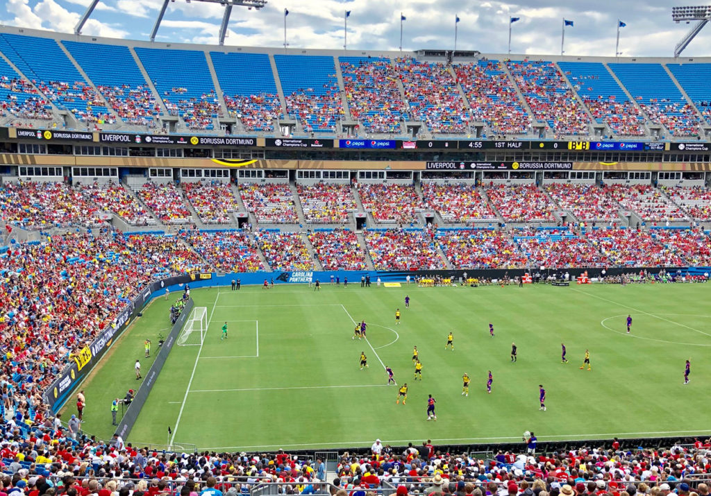 Charlotte's Major League Soccer announcement is expected soon