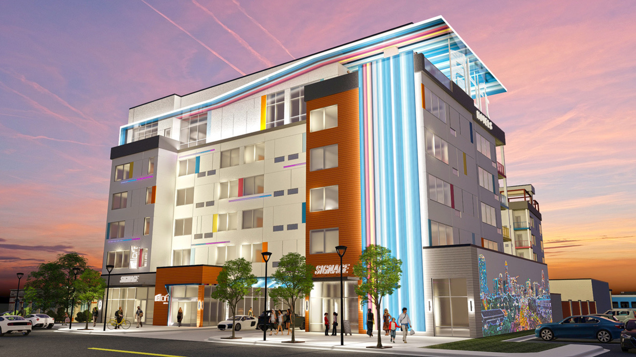 A new six-story hotel is coming to a rapidly changing part of South End