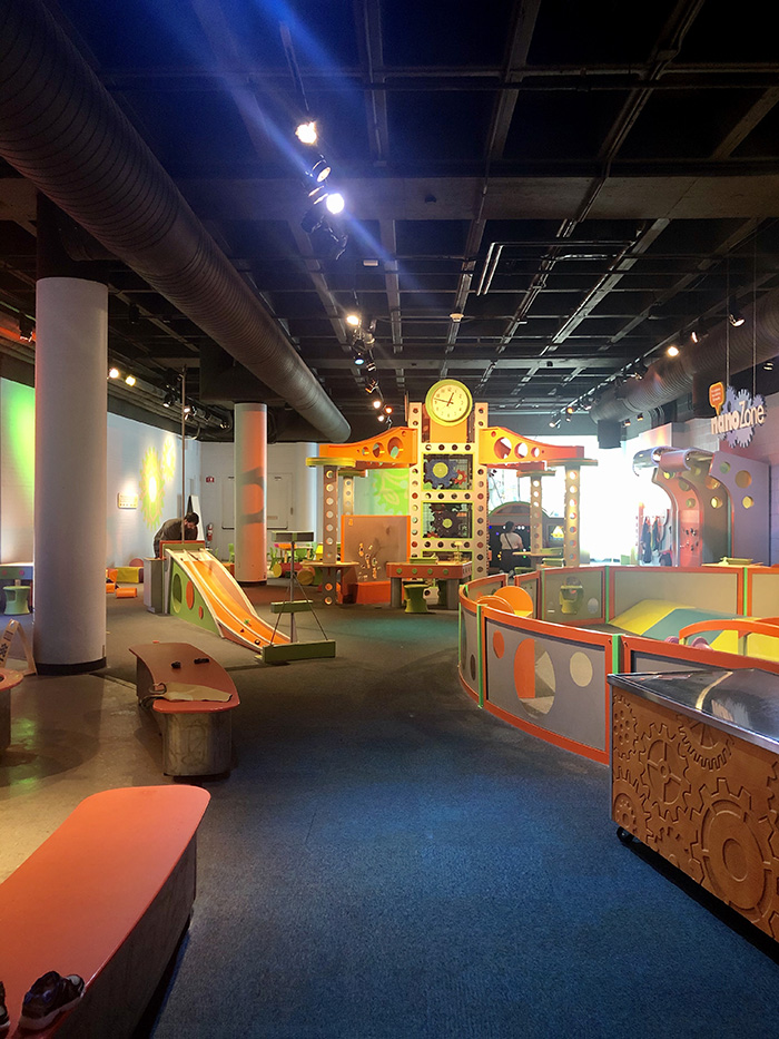 Discovery Place Science sleepover kids science