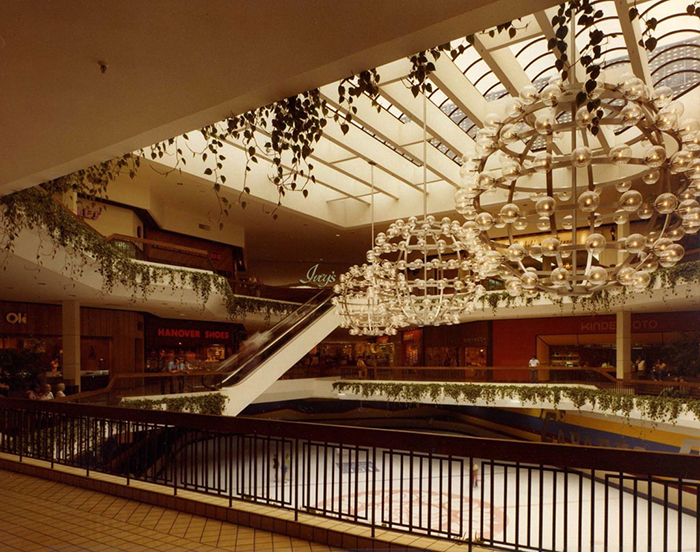Eastland Mall, view from the second floor