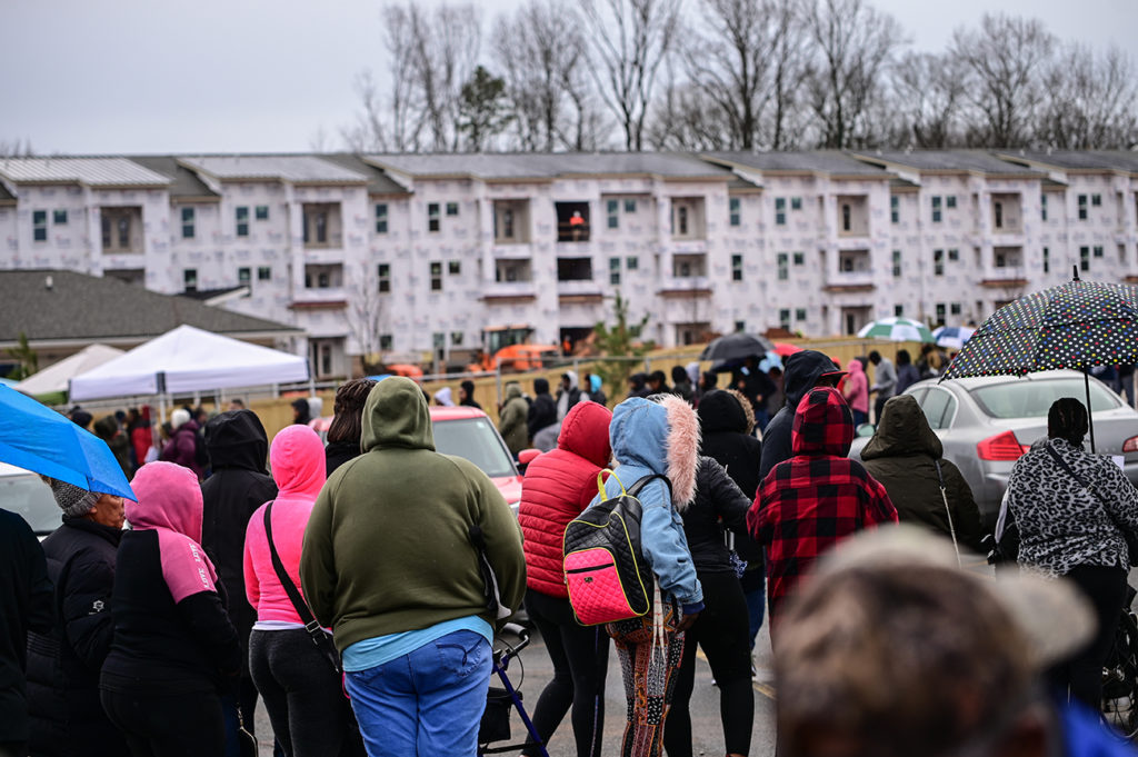 A call to pause evictions for another month in Mecklenburg