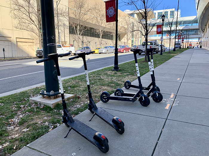e-scooters uptown Charlotte