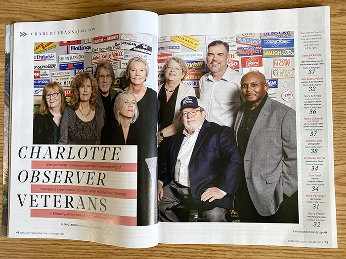 Charlotte Magazine Charlotteans of the Year