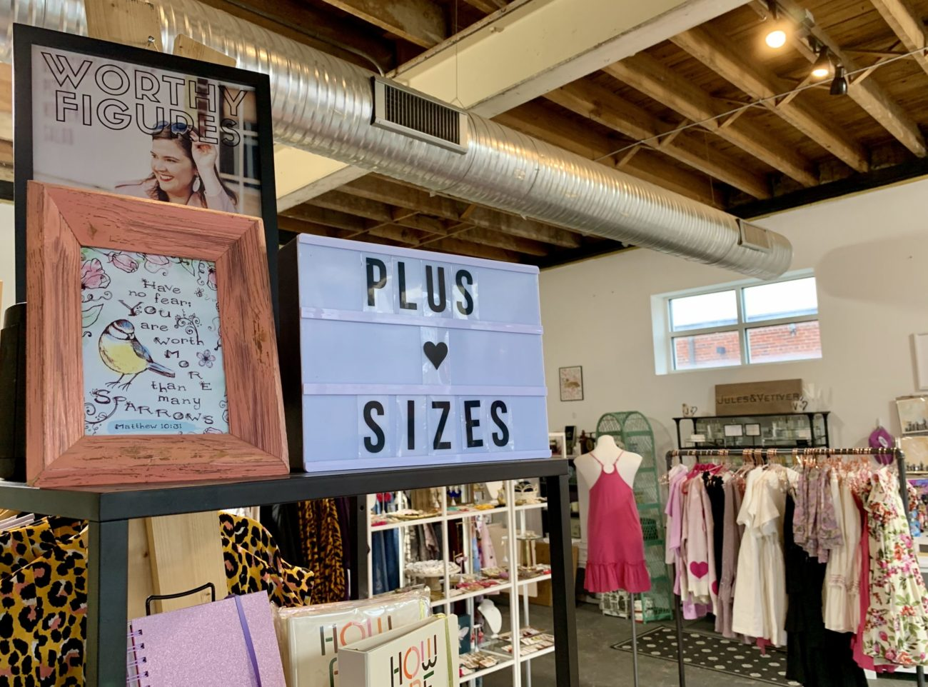 Where's all the plus-size clothing in Charlotte?