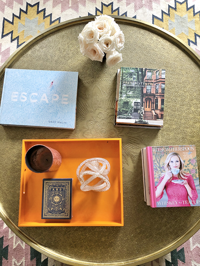 Madeline Hughes Home Tour coffee table