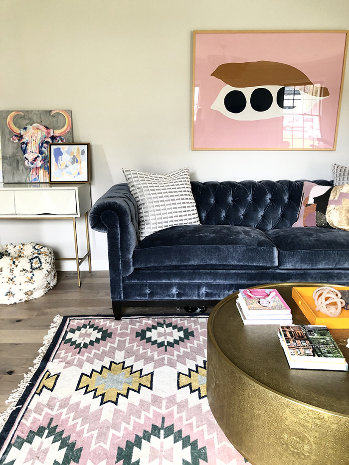 Madeline Hughes Home Tour ladie's lounge