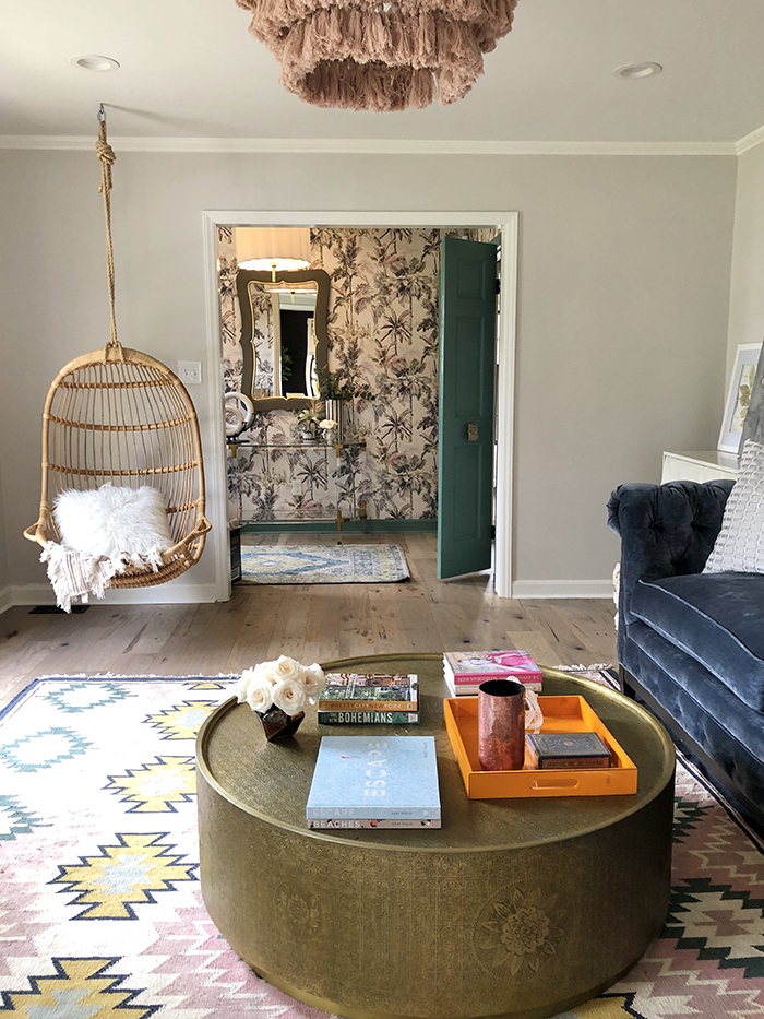Madeline Hughes Home Tour swing
