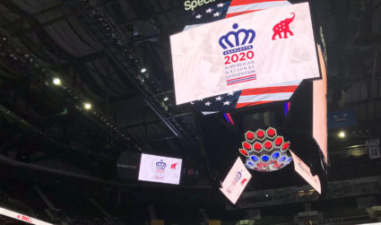 An unconventional convention: Finally, the RNC is in Charlotte. Kind of.