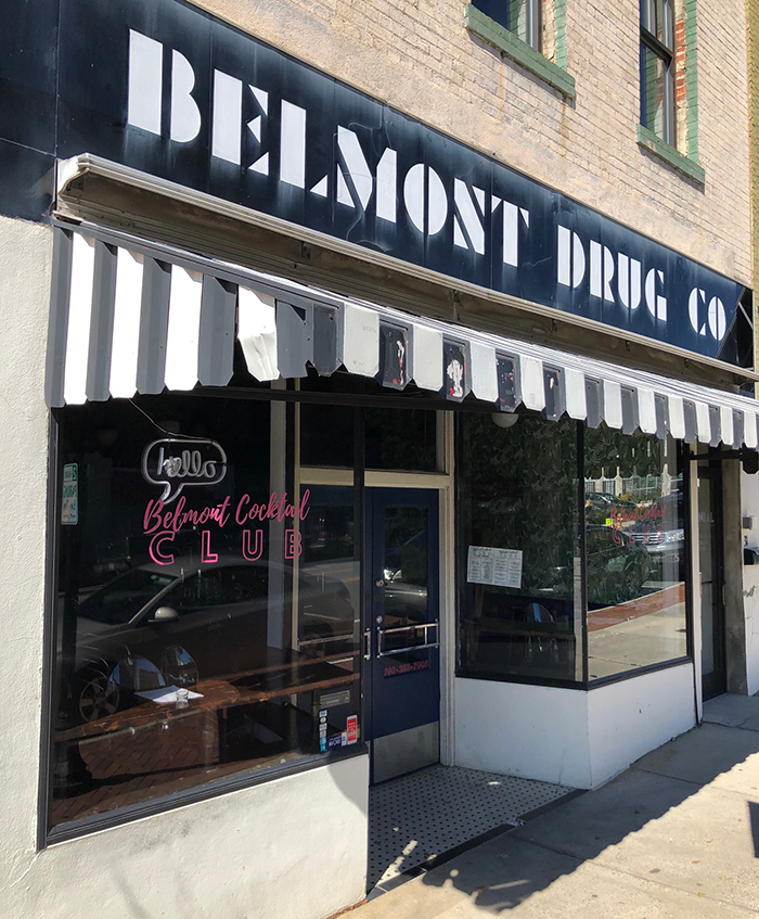 belmont cocktail club nc