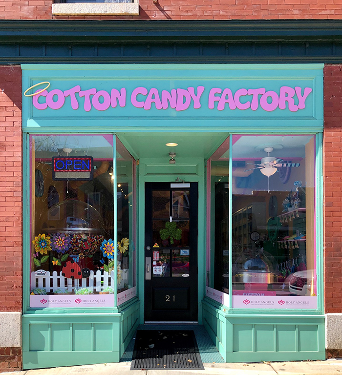 cotton candy factory location belmont