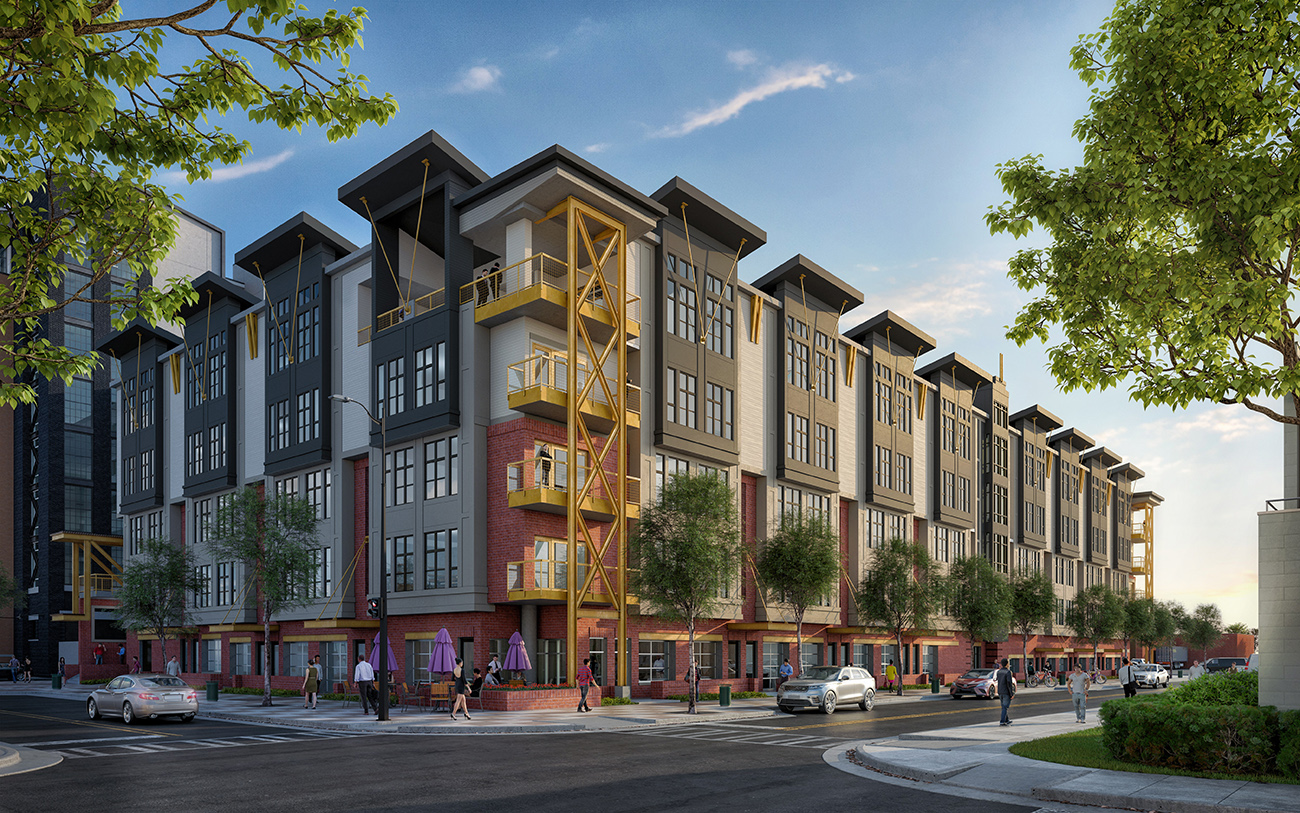 Starting at 396 square feet, Charlotte's first micro-apartments buck amenities and space for cheaper rent