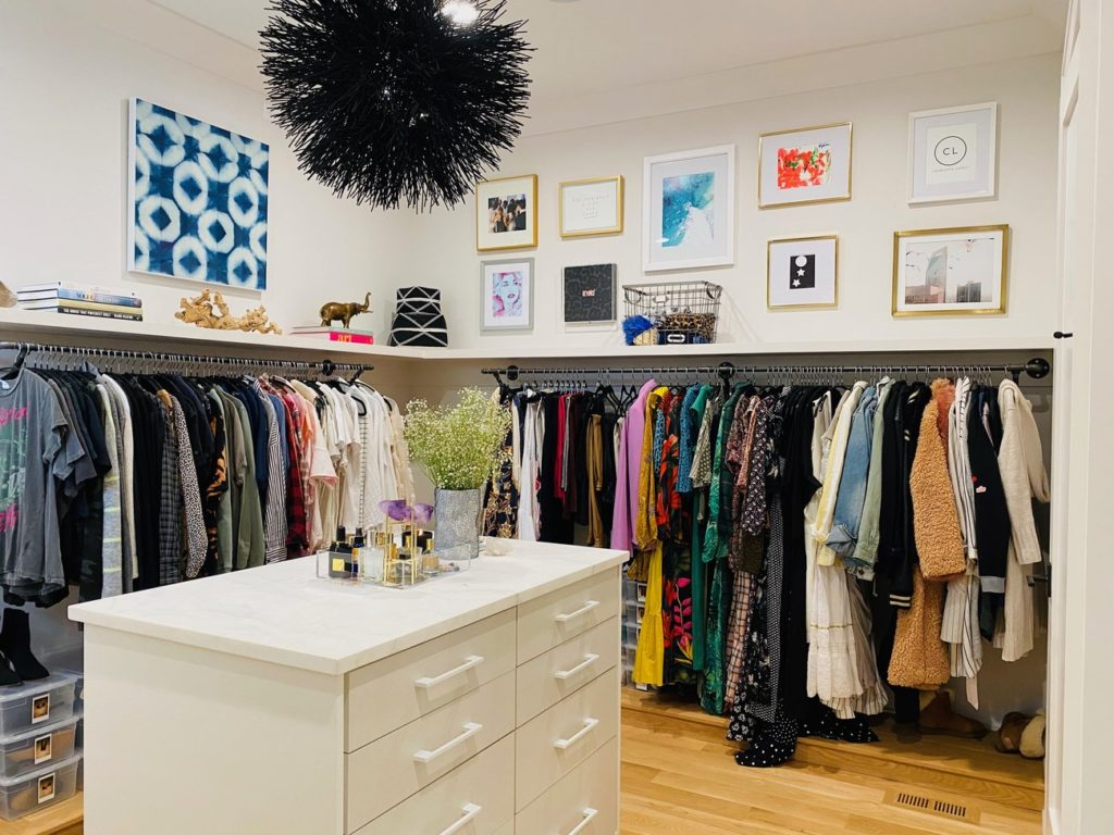 Closet Tour: Step inside former Panther Jonathan Stewart and his wife Natalie's custom his and hers closets