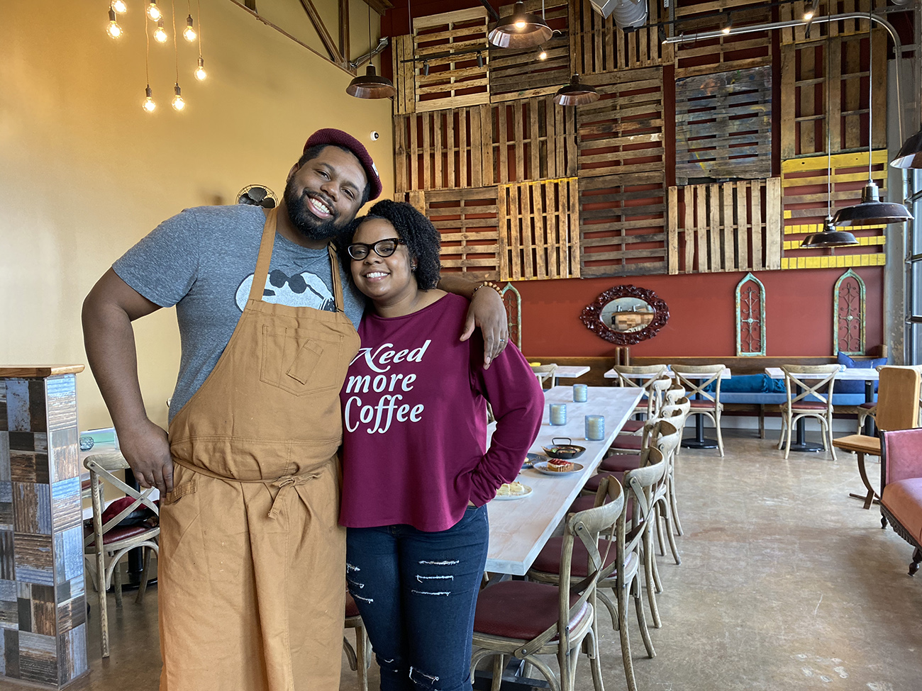 Leah & Louise, Camp North End's first restaurant, is now open