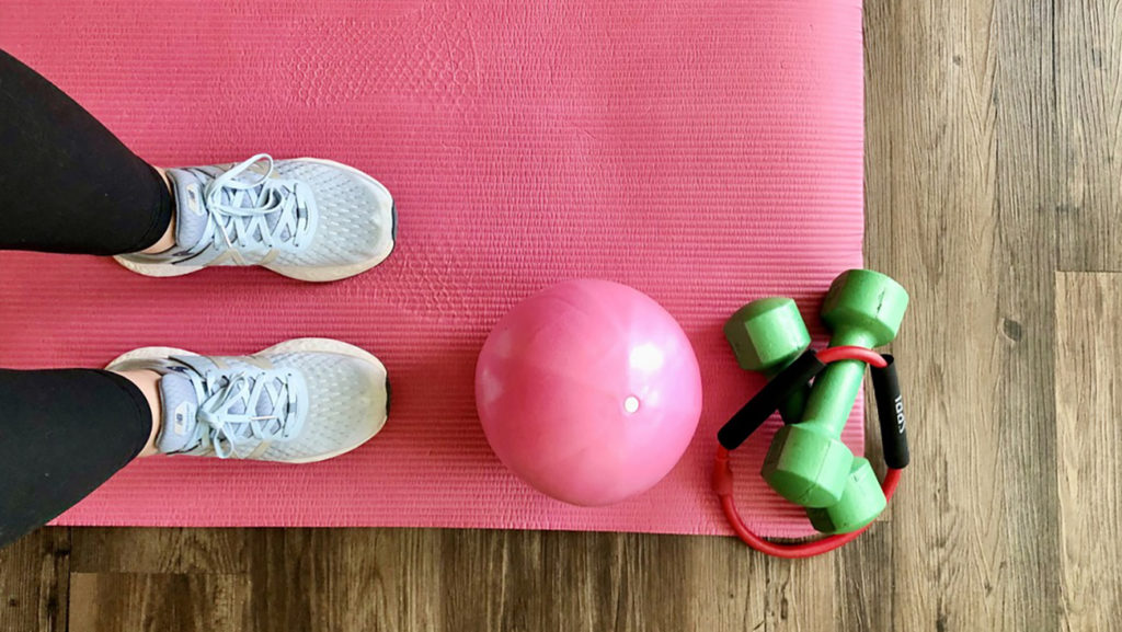 4 effective workouts you can do at home, from the pros at OrthoCarolina