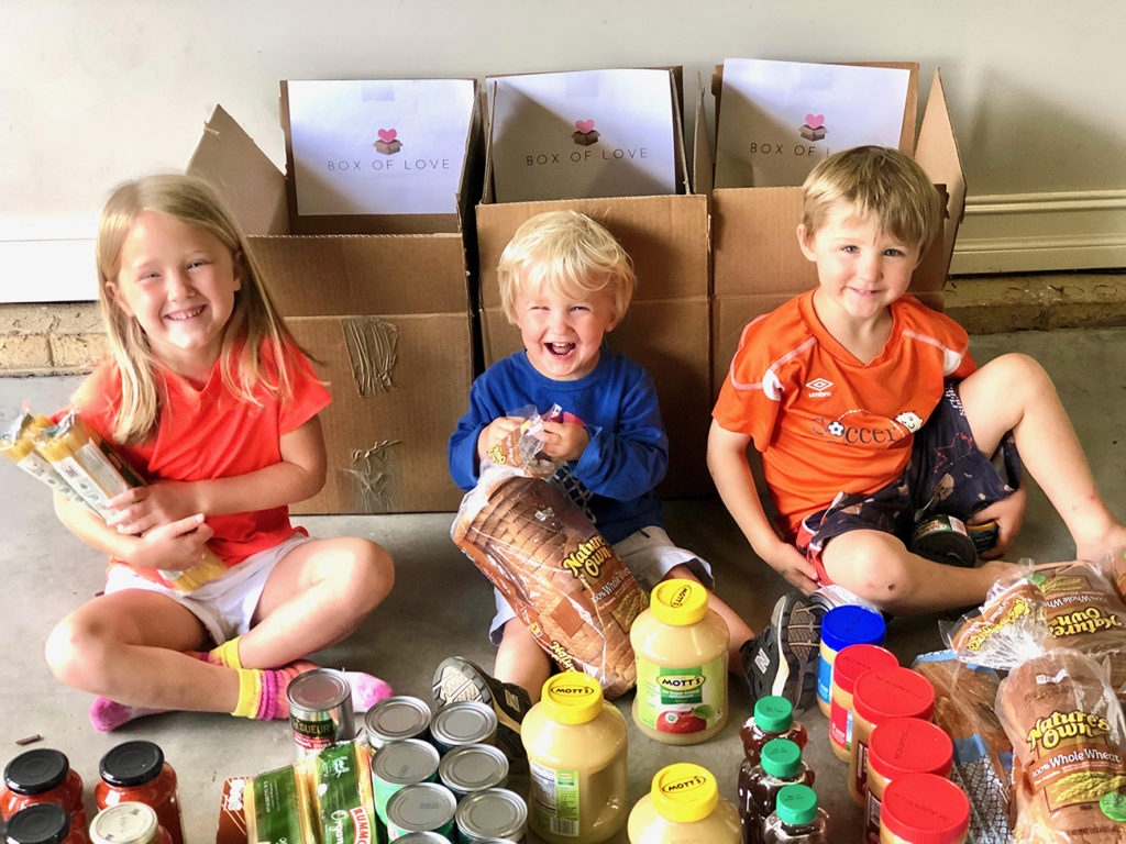 Meal box program offers families a way to give back together